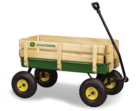 Tomy International 45407 John Deere Stake Wagon - Green - Peazz.com - 1