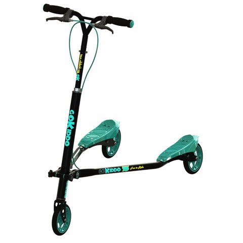 Go-Kiddo GK-T6-BK T6 Carving Scooter - Black - FunRidingToys.com