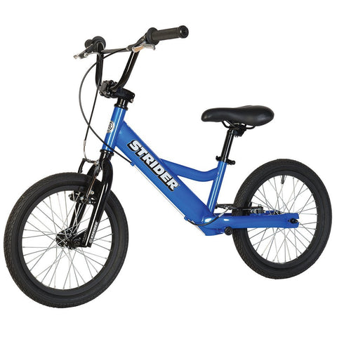 Strider 16 Sport No-Pedal Balance Bike - BLUE - Peazz.com