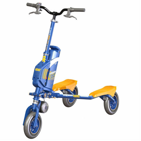Go-Kiddo GK-T6H-BU GK Colt Electric Carving Scooter - Blue - FunRidingToys.com