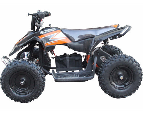 MotoTec MT-ATV3-Black Mini Electric Quad Battery-Powered v3 Black