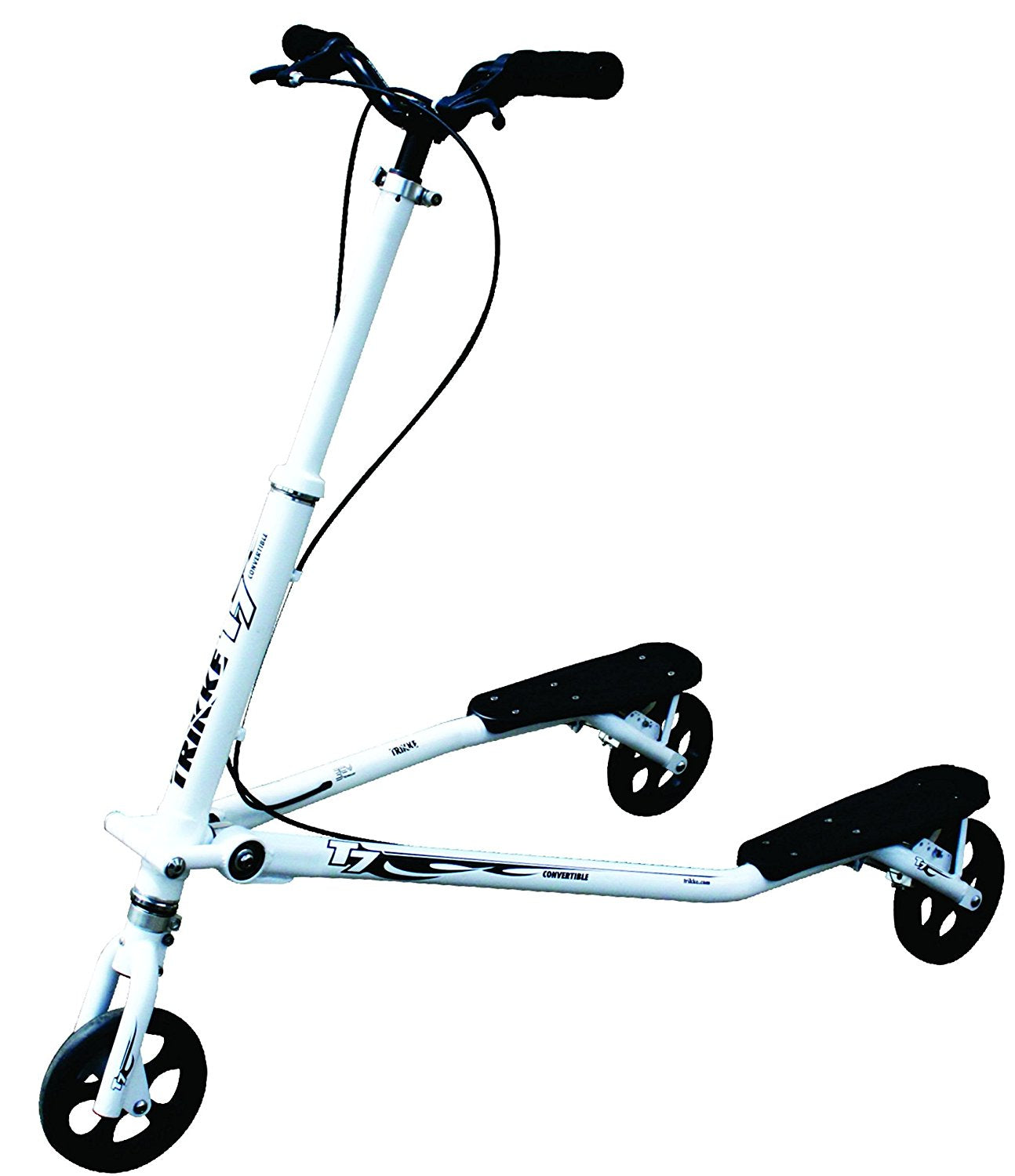 Trikke Tech T7f Convertible Carving Vehicle - T7f-wtbk