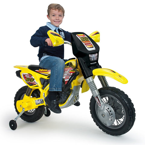 Injusa Motocross Thunder Max VX Ride On Motorcycle 12v Inj-6811 - FunRidingToys.com