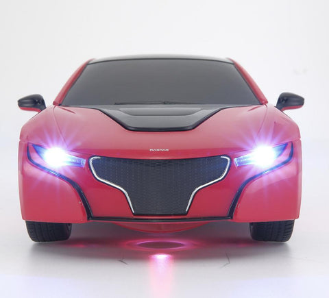 R/C 1:14 Scale RS Transformable Car 2.4G with USB, Red