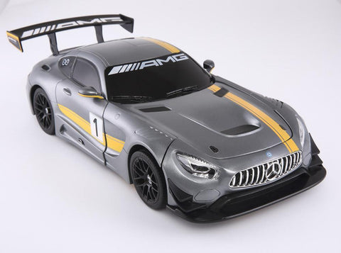 R/C 1:14 Scale Mercedes-Benz GT3 Transformable Car 2.4G with USB, Grey