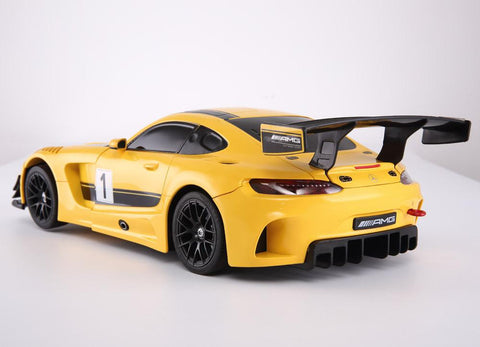 R/C 1:14 Scale Mercedes-Benz GT3 Transformable Car 2.4G with USB, Yellow