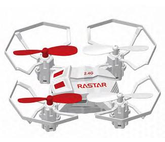 Galaxy Beatles 2.4G R/C 1:14 Scale Drone, White - FunRidingToys.com