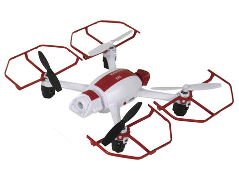 Mars Ants 2.4G R/C 1:14 Scale Drone, Red - FunRidingToys.com