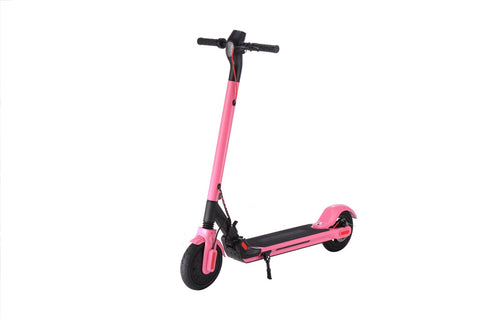 GLARE S10 Pink Electric Scooter - FunRidingToys.com