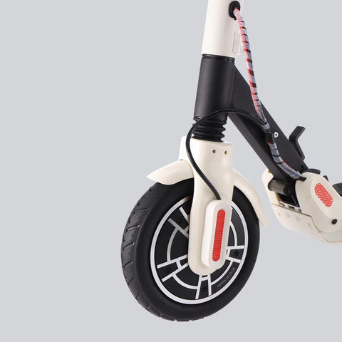 GLARE S10 White Electric Scooter - FunRidingToys.com