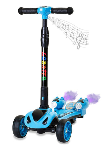 GLARE Y1 Blue Electric Scooter - FunRidingToys.com