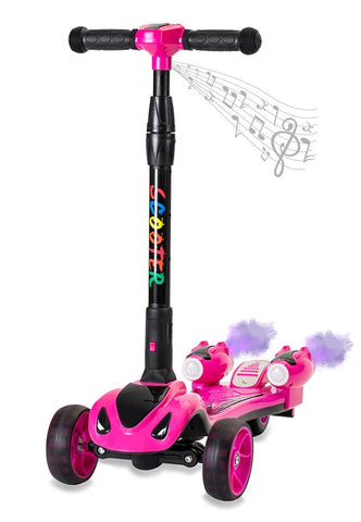 GLARE Y1 Pink Electric Scooter - FunRidingToys.com