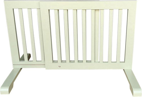 MDOG2 MK814-720LTGRN Free Standing Pet Gate - Light Green - Peazz.com - 3