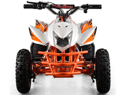 MotoTec MT-ATV5-White Mini Quad v5 White - FunRidingToys.com