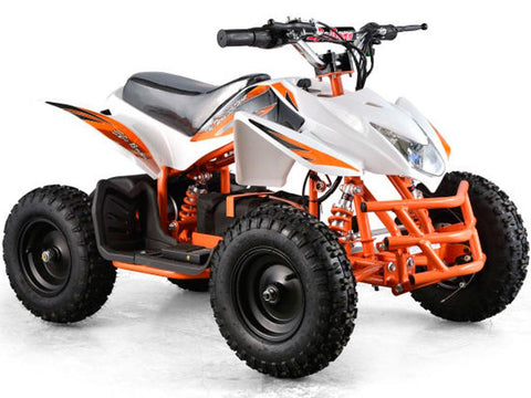 MotoTec MT-ATV5-White Mini Quad v5 White