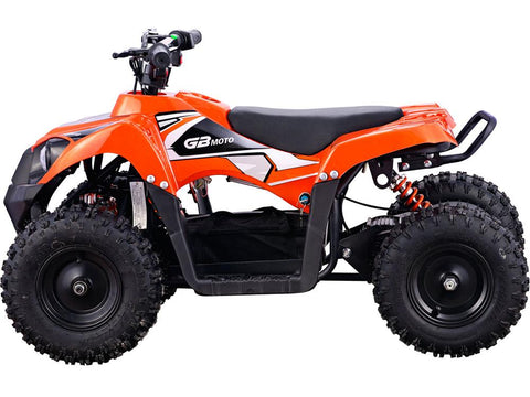 MotoTec MT-ATV6-Orange Monster 36v 500w ATV Orange - FunRidingToys.com