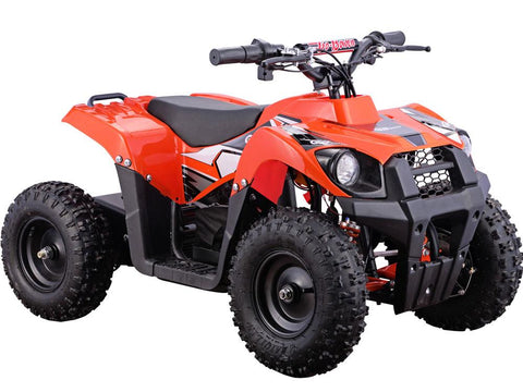MotoTec MT-ATV6-Orange Monster 36v 500w ATV Orange