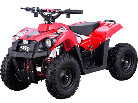 MotoTec MT-ATV6-Red Monster 36v 500w ATV Red - FunRidingToys.com