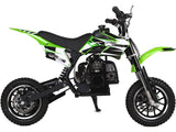 MotoTec 49cc GB Dirt Bike Green