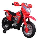 "Angry Birds ""Red"" 6V Battery Operated Kids Ride On Dirt Bike - Red - FunRidingToys.com"