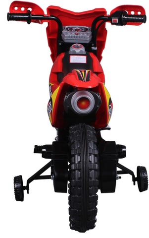 Vroom Rider VR098 6V Battery Operated Dirt Bike (Red)