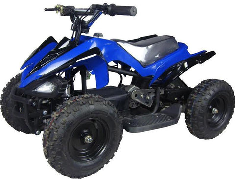 Go-Bowen XW-EA15-B Blue Mars Kids Electric Quad Battery-Powered ATV - FunRidingToys.com