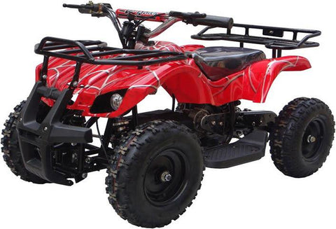 Go-Bowen XW-EA16-RS Red Spider Sonora Kids Electric Quad Battery-Powered ATV - FunRidingToys.com