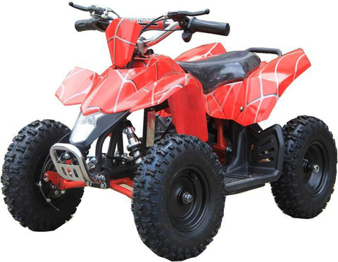 Go-Bowen XW-EA18-RS Red Spider Sahara X Kids Electric Quad Battery-Powered ATV - FunRidingToys.com