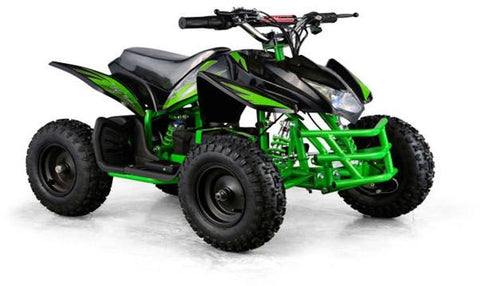 Go-Bowen XW-EA23-G Green Titan Kids Electric Quad Battery-Powered ATV - FunRidingToys.com