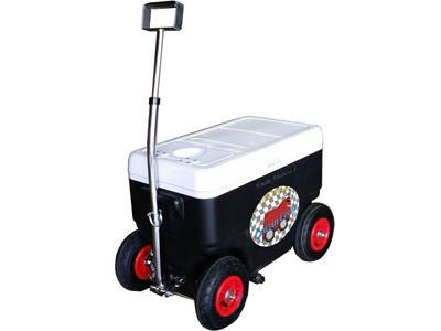 Cruzin Cooler CS-Coolagon-Black Coolagon Trailer Black