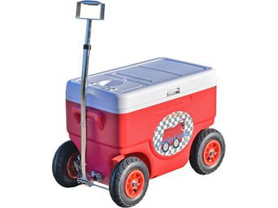 Cruzin Cooler CS-Coolagon-Red Coolagon Trailer Red - FunRidingToys.com