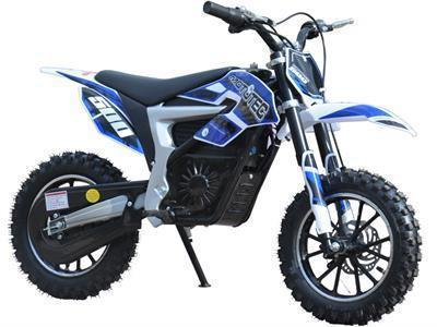 MotoTec MT-Dirt-Lithium-Blue 36v Electric Dirt Bike 500w Lithium Blue - FunRidingToys.com