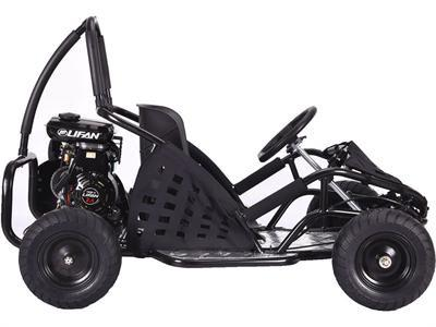 MotoTec MT-GK-05-Black Off Road Go Kart 79cc Black - FunRidingToys.com