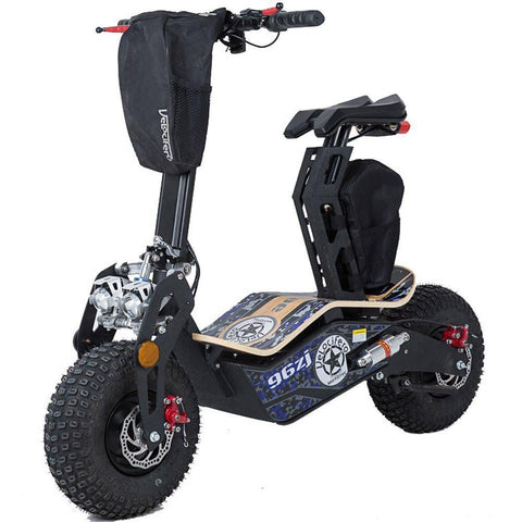 MotoTec MT-Mad-1600-Blue Mad 48v 1600w Electric Scooter - FunRidingToys.com