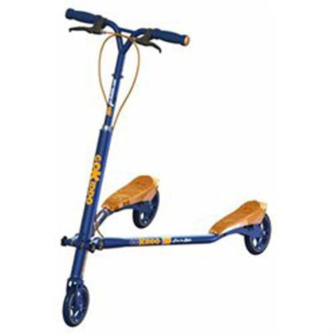 Go-Kiddo GK-T6-BU T6 Carving Scooter - Blue - FunRidingToys.com