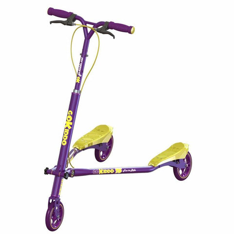 Go-Kiddo GK-T6-PP T6 Carving Scooter - Purple - FunRidingToys.com