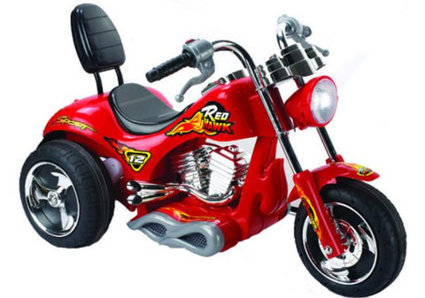 Red Hawk Motorcycle 12v Red MM-GB5008-RED - Peazz.com
