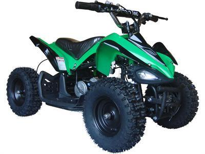 MotoTec MT-ATV2_Green Mini Electric Quad Battery-Powered v2 Green - FunRidingToys.com