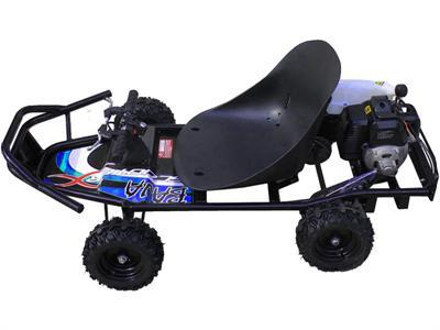ScooterX Baja Kart 49cc Black/Blue - Peazz.com