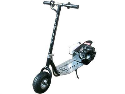 ScooterX X-racer 49cc Gas Scooter Black - Peazz.com