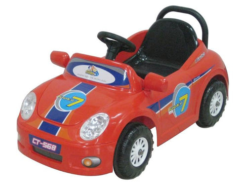 CTM Kids Mini Single Rider Roadster Red - FunRidingToys.com