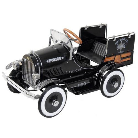 Dexton DX-20334 Police Pick Up Pedal Car - FunRidingToys.com