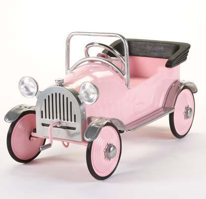 Airflow AF102 Pink Princess Pedal Car - FunRidingToys.com