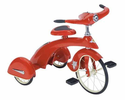 Airflow TSK005 Junior Skyking Tricycle - Red - FunRidingToys.com