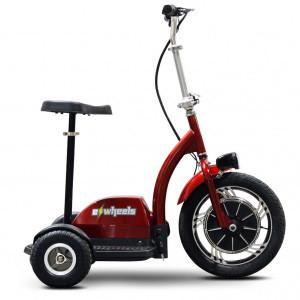 EWheels Ew 18 R Stand/Ride - Red - FunRidingToys.com