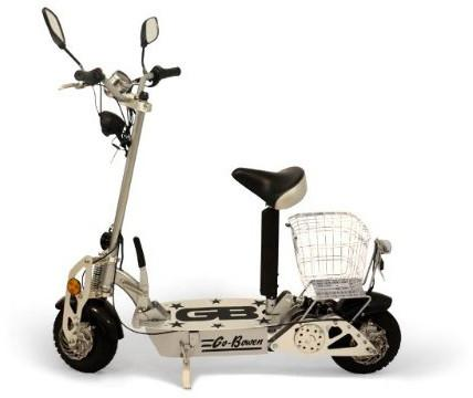 Go-Bowen Cruiser 800W Electric Scooter - Black - FunRidingToys.com