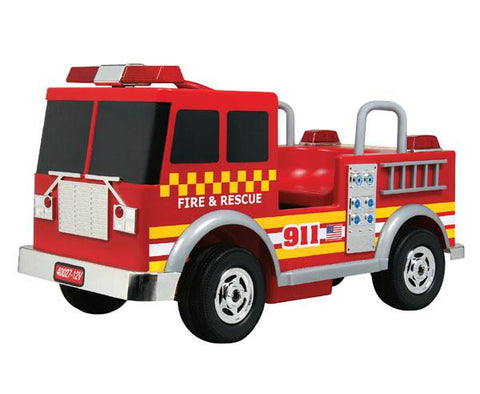 Battery Operated Fire Truck 12V - FunRidingToys.com