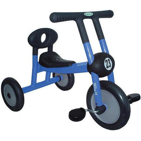 Italtrike Pilot 100 Blue Tricycle with Pedals - 100-02 - FunRidingToys.com