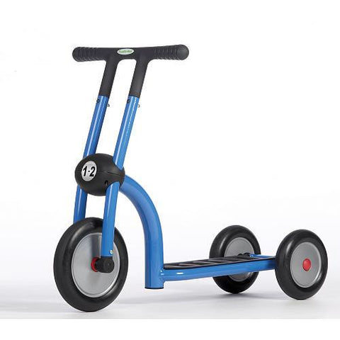 Italtrike Pilot 100 3 Wheel Blue Scooter - 100-04 - FunRidingToys.com