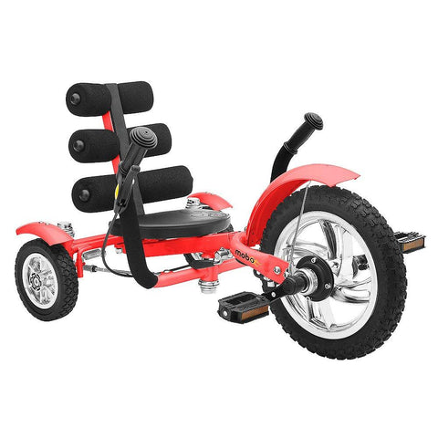 "Mobo Mini Tri-601R The Smallest Luxury Cruiser 12"" - Red - Peazz.com"